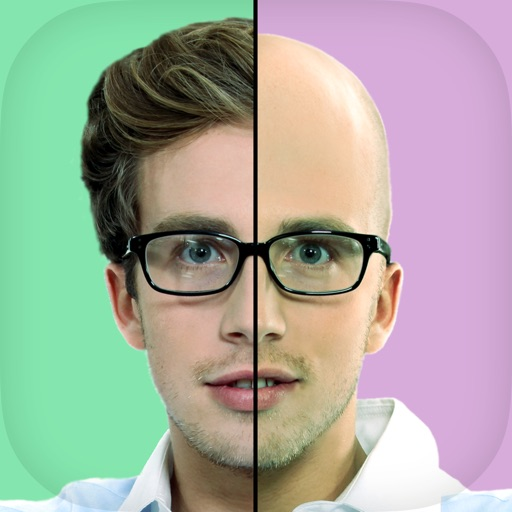 Bald Head Photo Booth - Hipster Style Selfie Camera for MSQRD Prisma SimplyHDR Mlvch