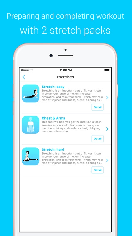 Chest & Arms Workout - Your Personal Fitness Trainer to pump pecs muscles screenshot-3