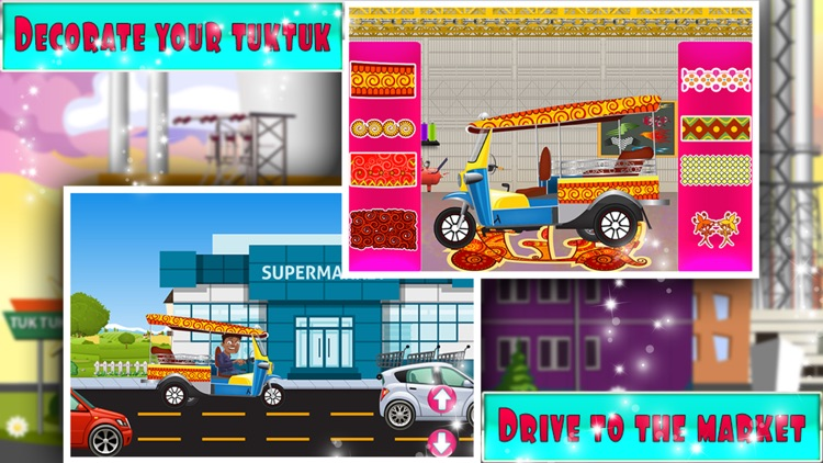 Tuk tuk Factory – Auto rickshaw maker & builder game for kids screenshot-3