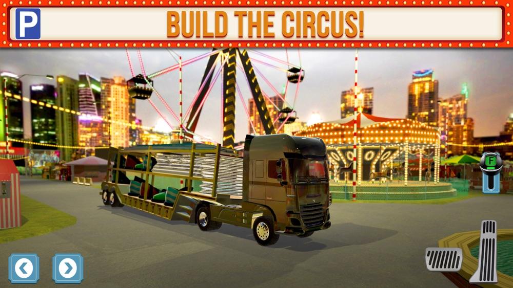 Amusement Park Fair Ground Circus Trucker Parking Simulator hack tool