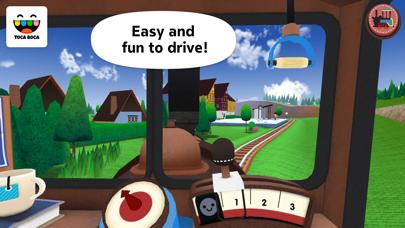 Toca Train review screenshots