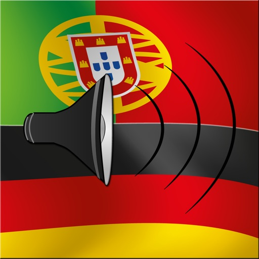 Portuguese / German Talking Phrasebook Translator Dictionary - Multiphrasebook