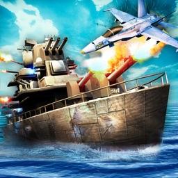 Naval Warfare Battle Strike Zone - American Navy Submarine War-ship FREE