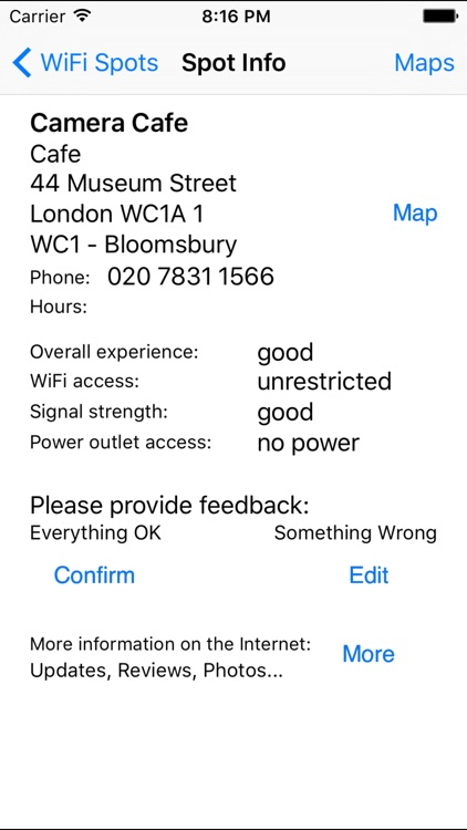 London Free WiFi screenshot-2