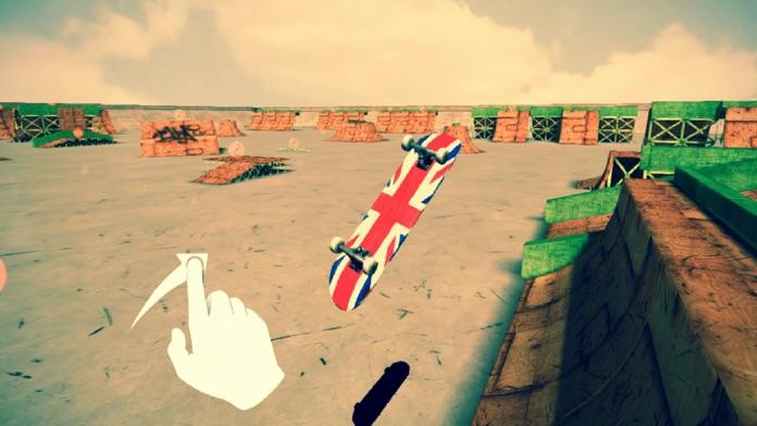 Skate City 3D - Free Skateboard Park Touch Game Screenshot