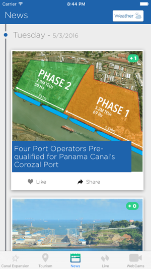 Canal de Panamá 2 0 on the App Store