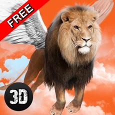 Activities of Wild Flying Lion Simulator 3D