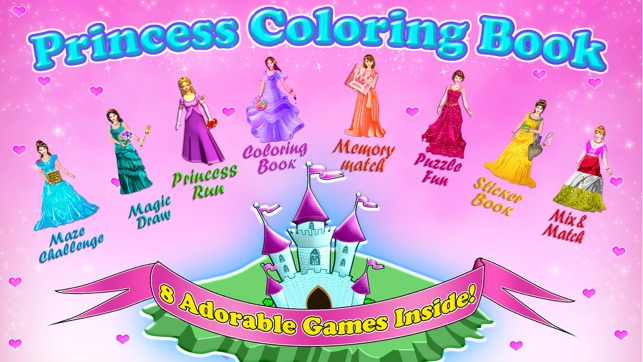 Little Princess Coloring Book! on the App Store
