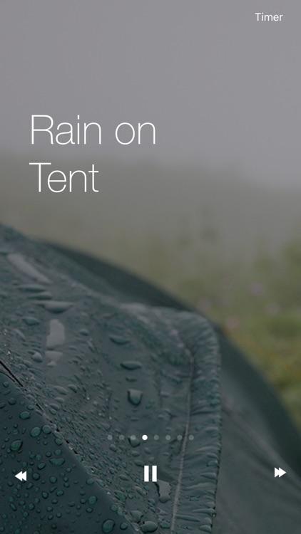 Raining Sounds - The Best Relax Nature Meditation Raining screenshot-4