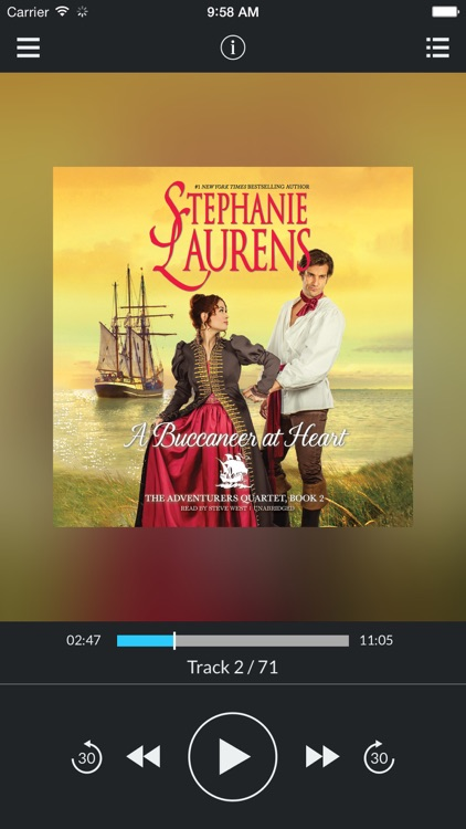 A Buccaneer at Heart (by Stephanie Laurens) (UNABRIDGED AUDIOBOOK)