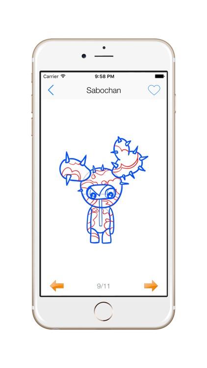 How To Draw Tokidoki - Free All screenshot-3