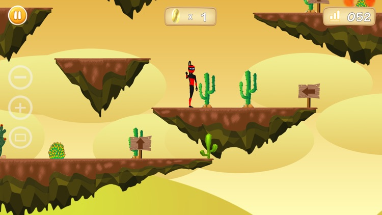 Ninja Rush & Jump, Jumping Game, Arcade Free Game screenshot-1