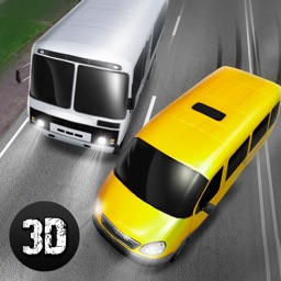 Russian Minibus Traffic Racer 3D Full
