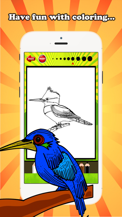 Cartoon Bird. Coloring Page For Children And Kids. Printable ... | 696x392