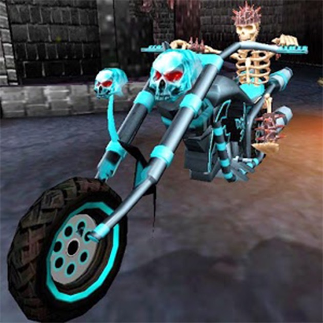 Ghost Rider Quotes About Life And Death: Death Bike Racing 3D. Ghost Rider Motorcycle Race In Skull