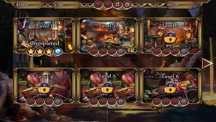 Sacred Elements-Fire-Hidden Object Game