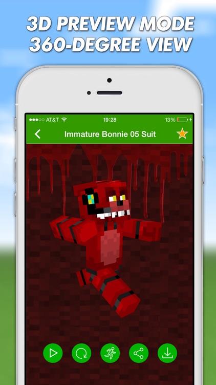 FNAF Skins For Minecraft PE (Pocket Edition) Pro