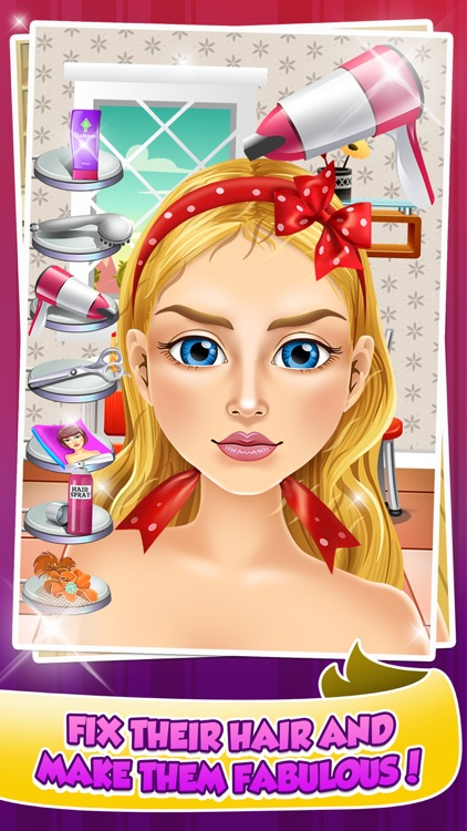 Wedding Salon Makeover & Spa Girl Games screenshot-3