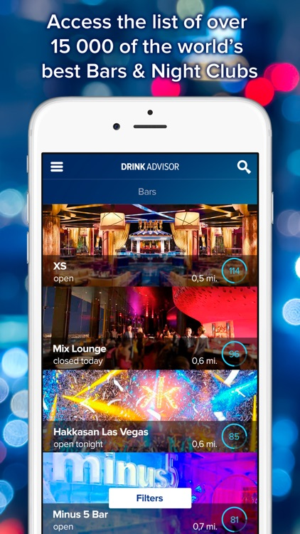 DrinkAdvisor - World's Best Bars, Night Clubs & Restaurants Guide screenshot-0