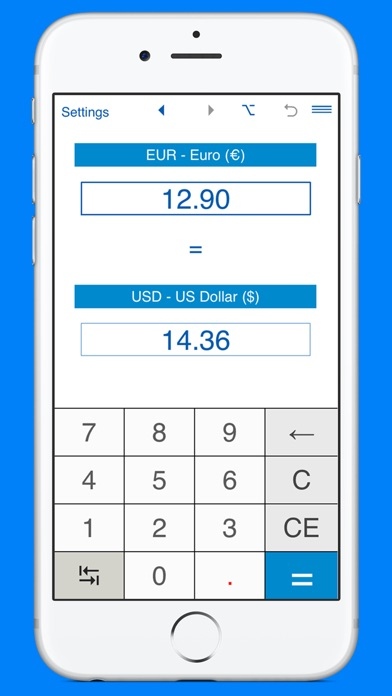 Screenshot 6 For Us Dollars To Euros And Eur Usd Converter