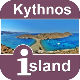 Kythnos island Offline Map Travel  Guide