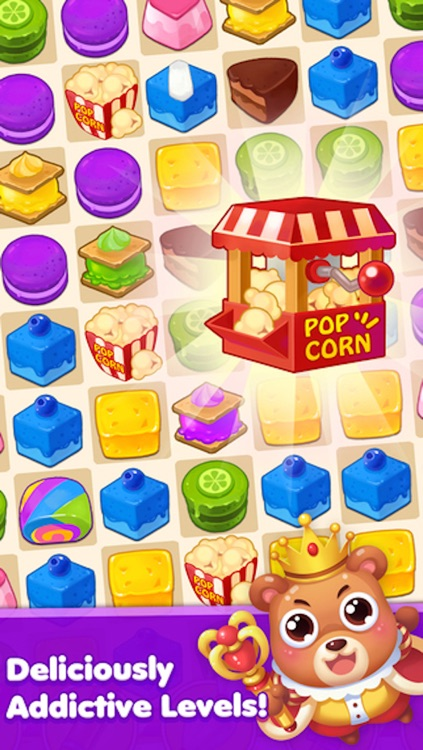 Magic Cookie - 3 match puzzle game