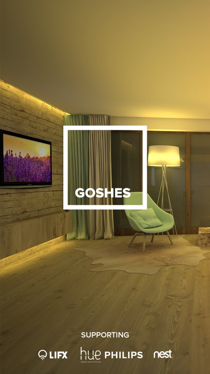 GOSHES - ambience lighting for Philips hue & LIFX