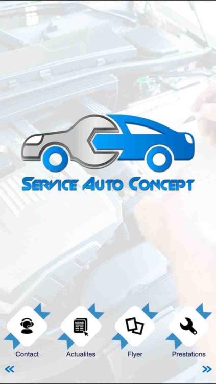 Service Auto Concept