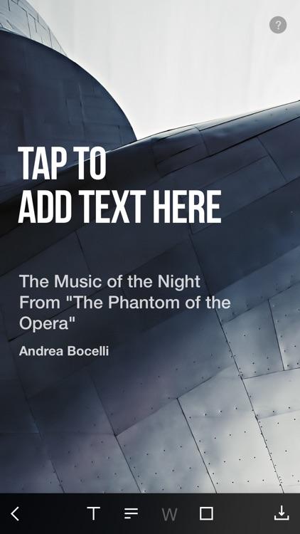 NEXT - turn your music into beautiful artwork screenshot-3