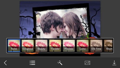 Halloween Photo Frames - Elegant Photo frame for your lovely moments Screenshot on iOS