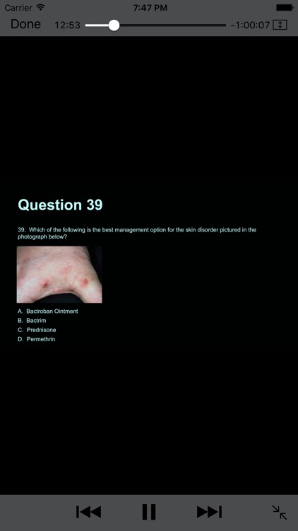 Complete PANCE/PANRE Review Course (Video Lecture and Questions) screenshot-4