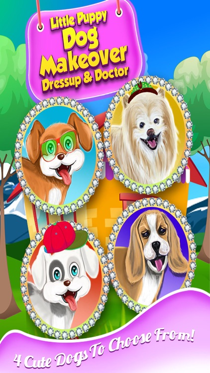 Little Pet Puppy Dog Makeover Dressup Doctor Free Animal Games