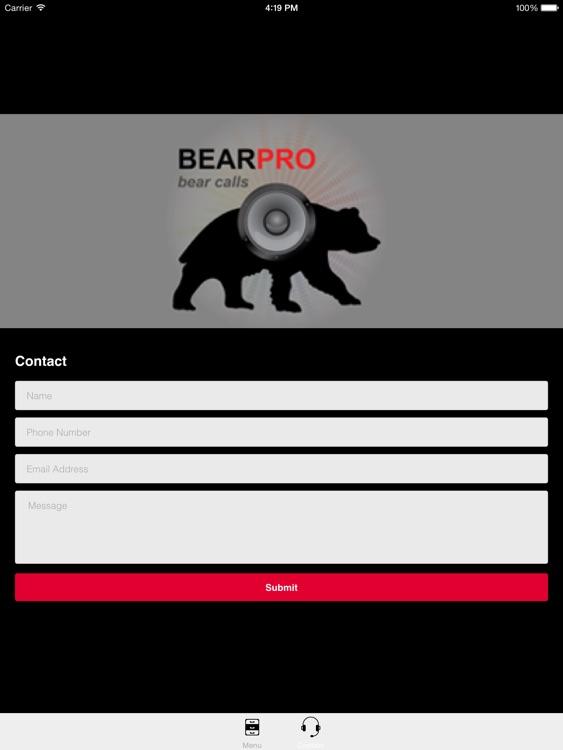 REAL Bear Calls & Bear Sounds for Big Game Hunting -- BLUETOOTH COMPATIBLE screenshot-3