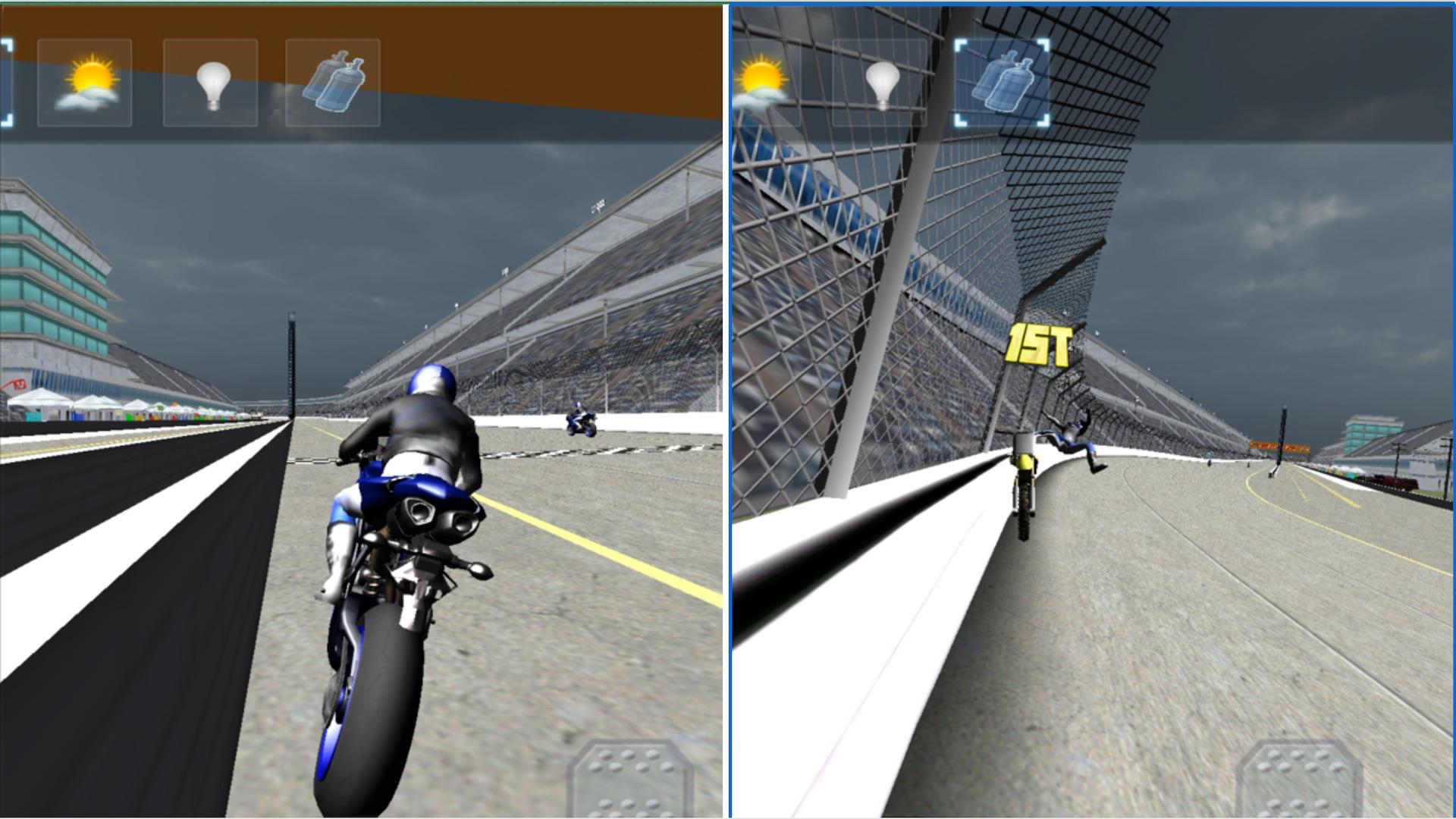 Moto Bike Racer : 3D Motorbikers Heated Chase Fun screenshot 14