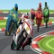 Moto Bike Racer is a fast paced 3D motorcycle bike racing rider game in a top gear speedway beautiful sports track