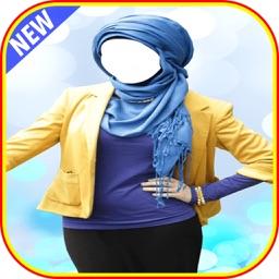 Hijab Fashion Photo Maker-hijab montage photo