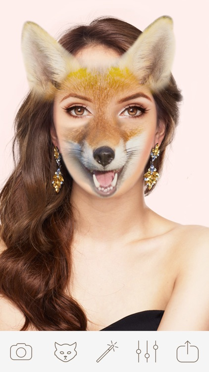 Animal Face Photo Booth - Face Swap Photo Effect screenshot-2