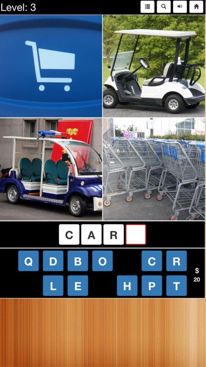 4 Pics 1 Word (Free) screenshot-3