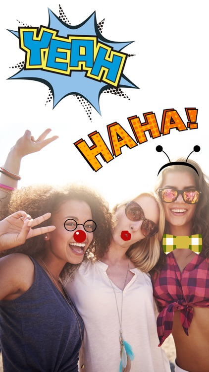 meme sticker emoji photo editor -  turn your photos into comic