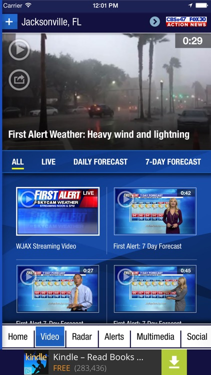 Action News Jax Weather screenshot-2