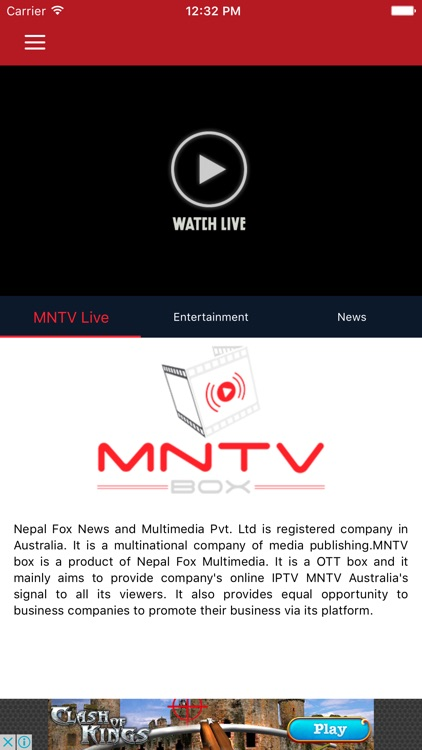 MNTV Australia by NEW IT VENTURE CORPORATION