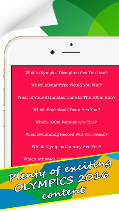 Which Olympics Discipline Are You Into? - Personality Test for Rio 2016 screenshot four