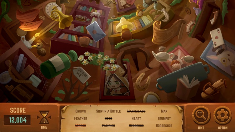 Alice in Wonderland: A Hidden Object Game screenshot-4