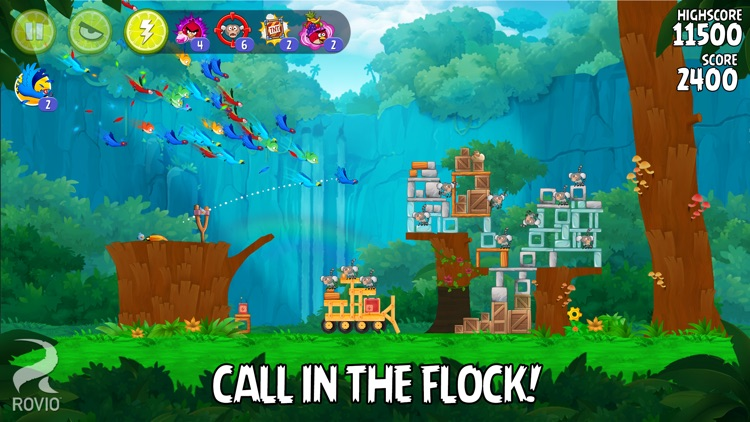 Angry Birds Rio screenshot-2