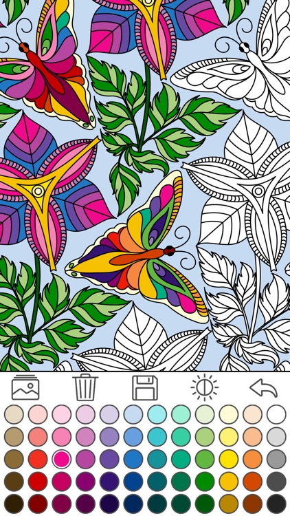 Mindfulness coloring - Anti-stress art therapy for adults (Book 2)