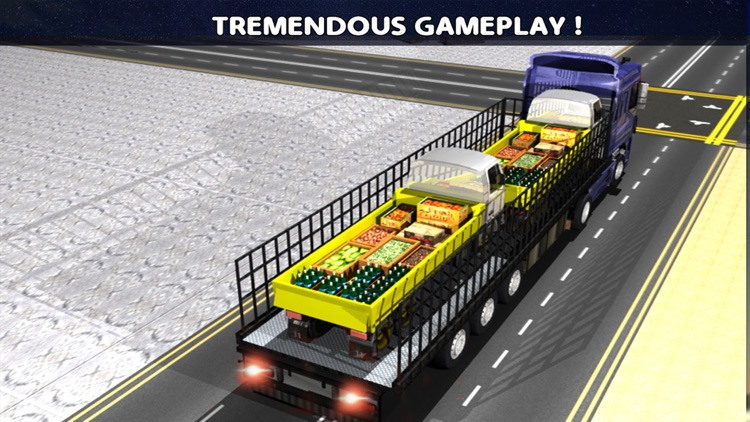 Transport Truck: Relief Cargo