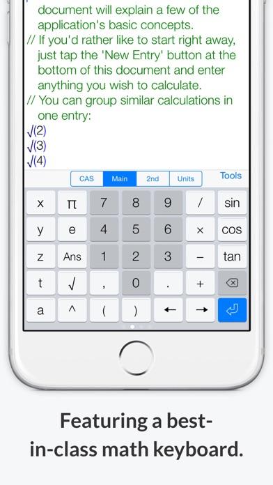 Screenshot #9 for PocketCAS Mathematics Toolkit