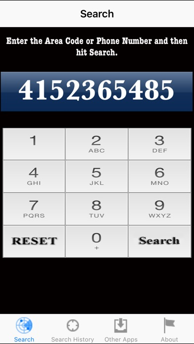 Screenshot for Number Locator in Singapore App Store