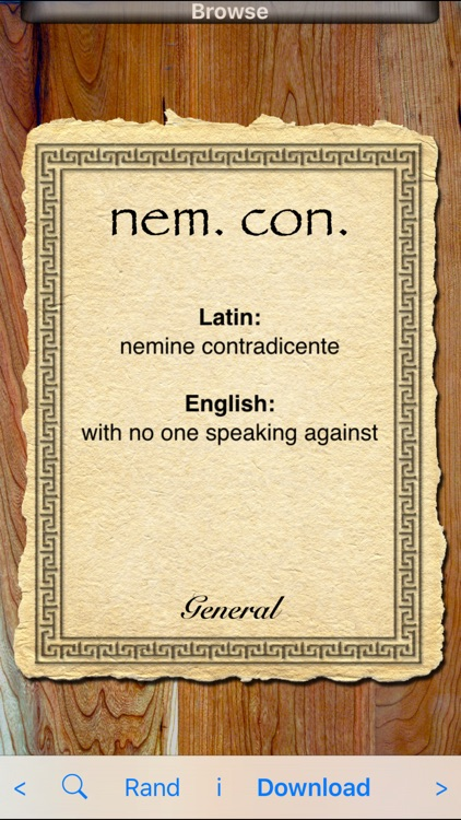 Latin Abbreviations