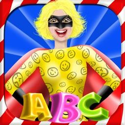 ABC Hero - Super Heroes Alphabet Spelling Game